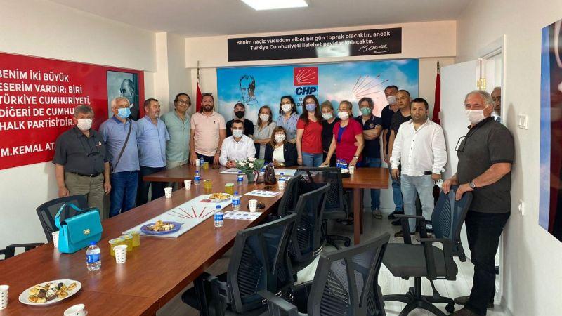 DEVA Adapazarı'ndan CHP'ye ziyaret
