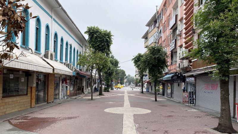 Sakarya'da sokaklarda sessizlik hakim