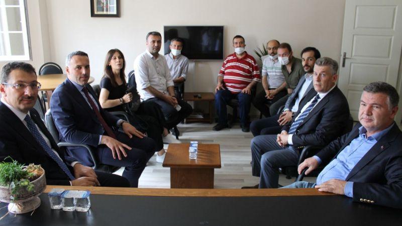 Yavuz ve Tever'den SGC'ye ziyaret