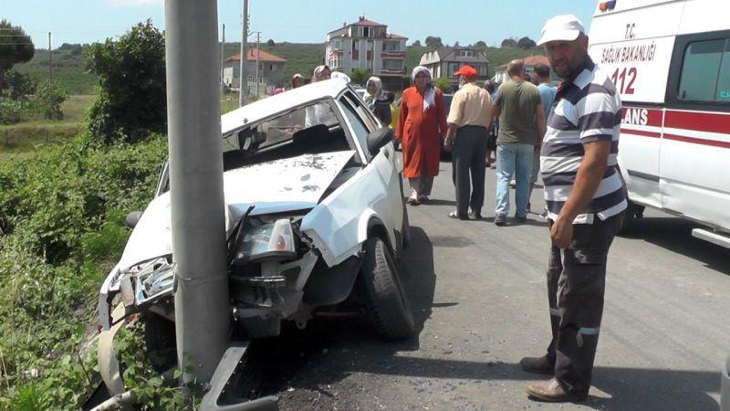 Karasu yolunda kaza: 3 yaralı
