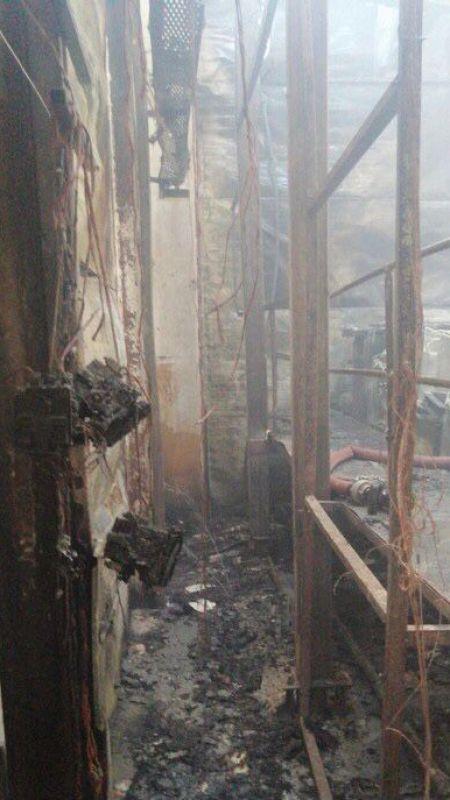 Hendek OSB'de fabrika yandı