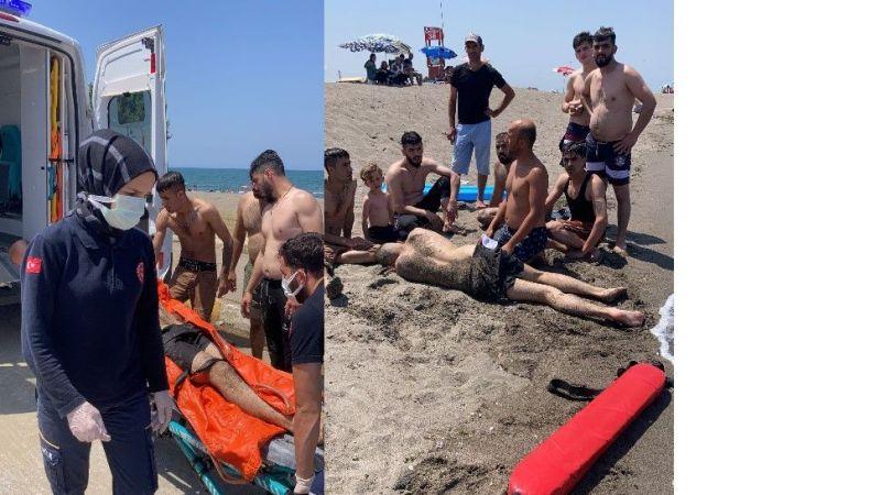 Kocaali'de iki kişi boğulmaktan kurtarıldı