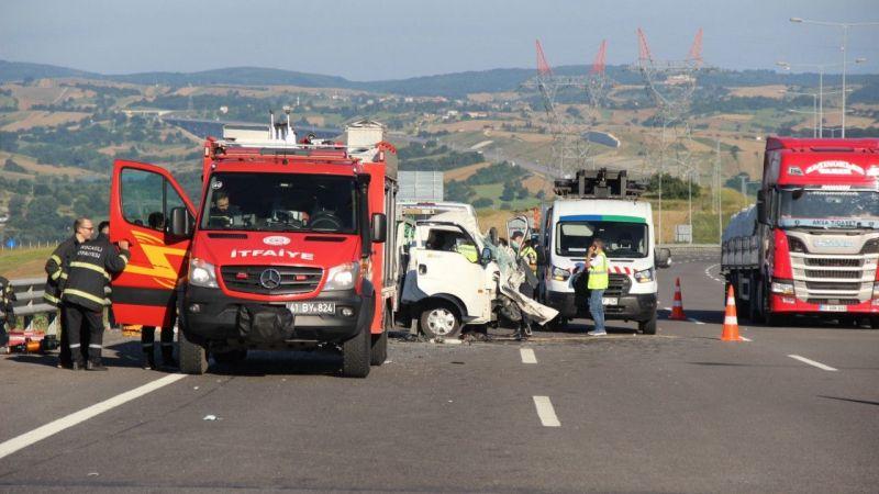 Kuzey Marmara otoyolunda ölümlü kaza