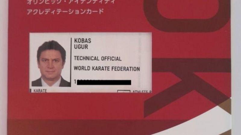 Kobaş'ın olimpiyata katılım kartı geldi