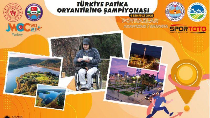 Patika Oryantiring Şampiyonası Poyrazlar'da yapılacak