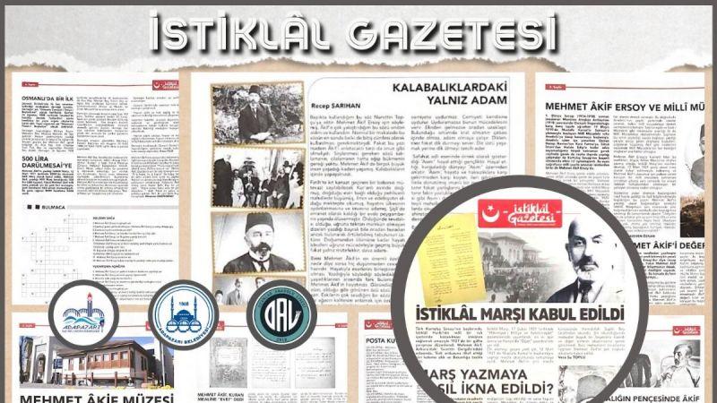 Adapazarı MEM'den 'İstiklal Gazetesi'
