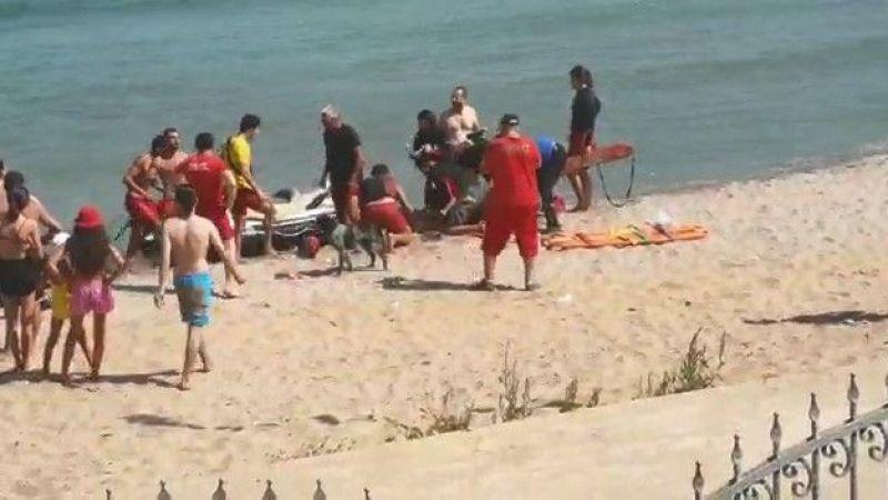 4 kişi boğulma tehlikesi geçirdi 2 kişinin durum ağır