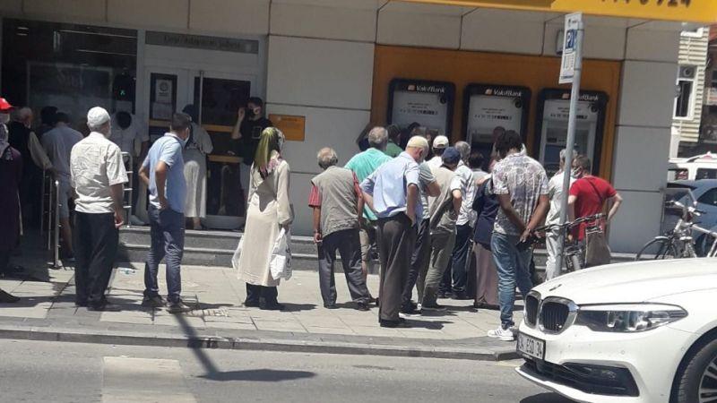 Banka ATM'leri yine boş