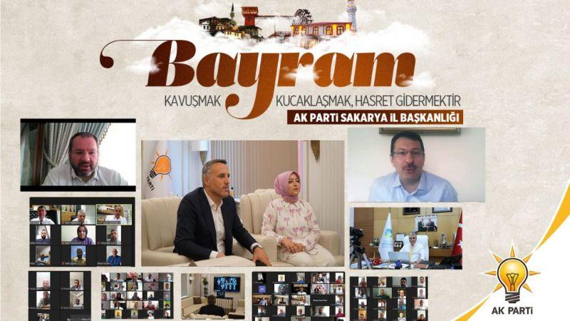 AKP bu bayramda da online bayramlaştı
