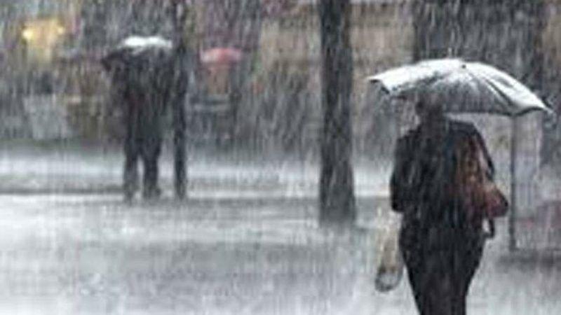 Bugün sağanak yağışa dikkat
