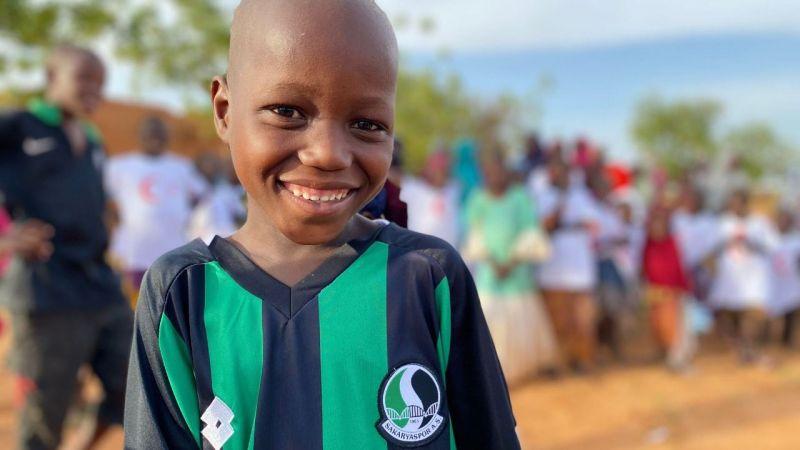 Nijer'de Şampiyon Sakarya tezahüratı