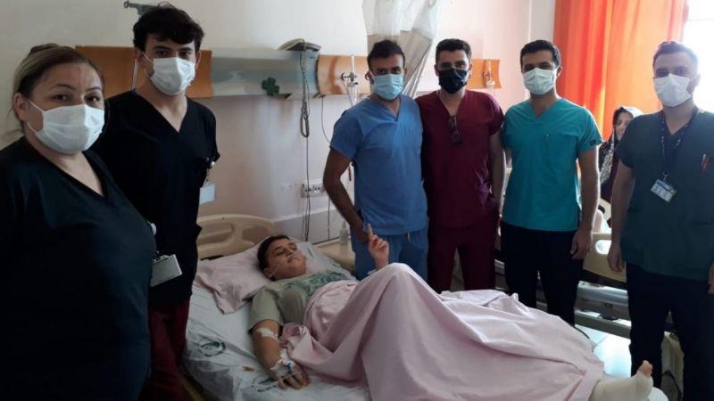 Kick Boks sporcusu Özgenur Avcıl'ın sağlık durum iyi