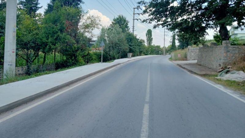 Büyükşehir'den Göktepe'ye yaya yolu