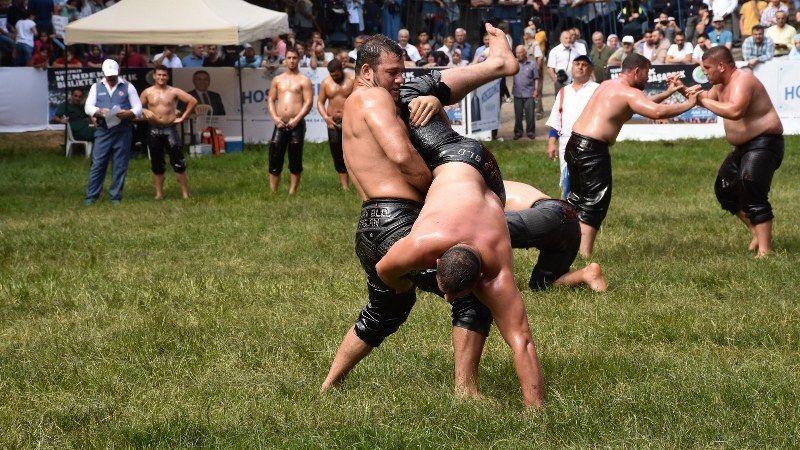 Güreşçiler son antrenmanlarını Hendekte yapacak