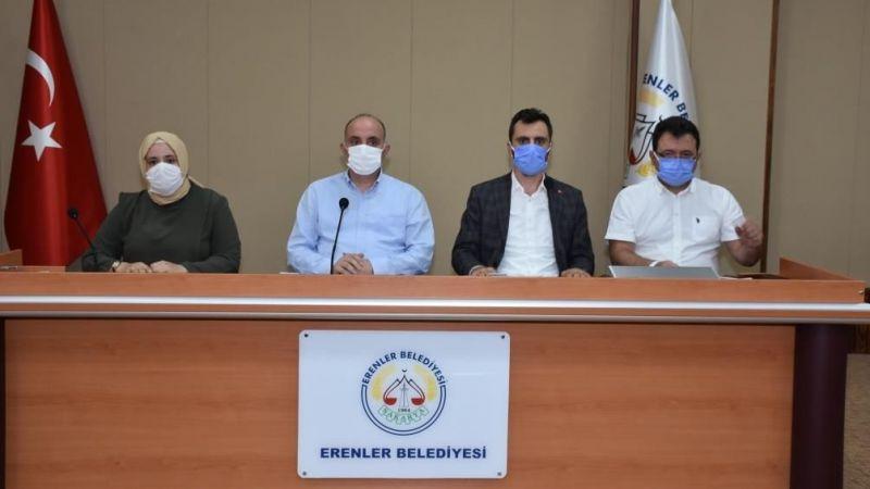 Erenler Belediyesi 2 gündem maddesini görüştü