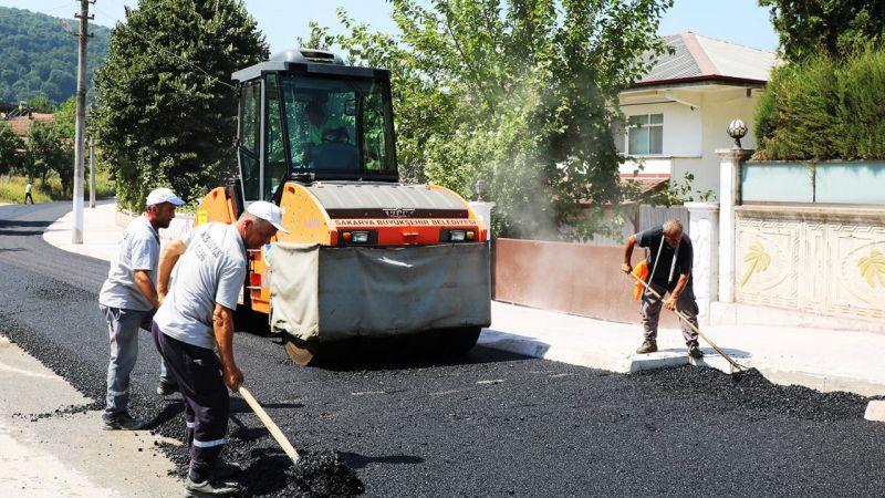 Pazarköy Caddesi yenilendi