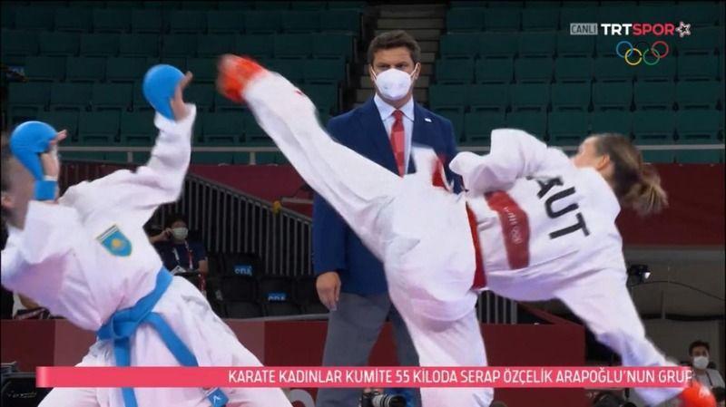 Kobaş, olimpiyatlarda dikkatleri çekti
