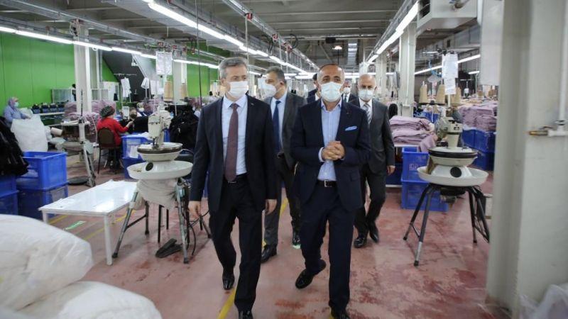 Genel Müdür Aktürk, fabrikaları gezdi