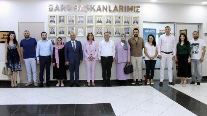 İyi Parti'den Baro Başkanı Yıldız'a ziyaret