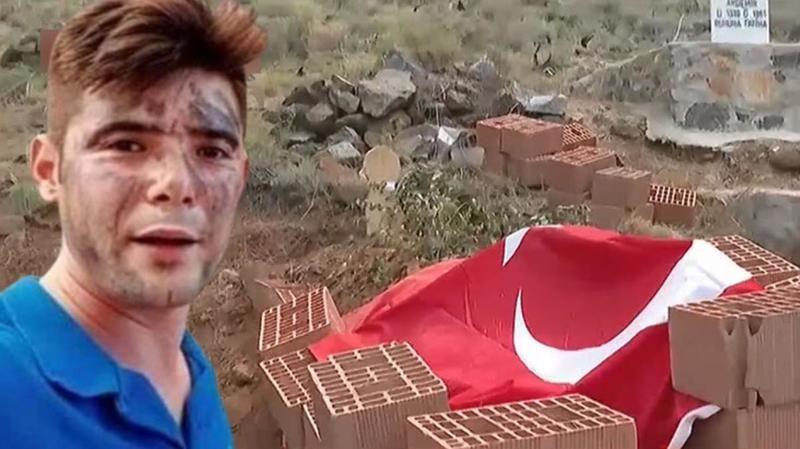 Kahraman Şahin'in mezarı tehdit altında