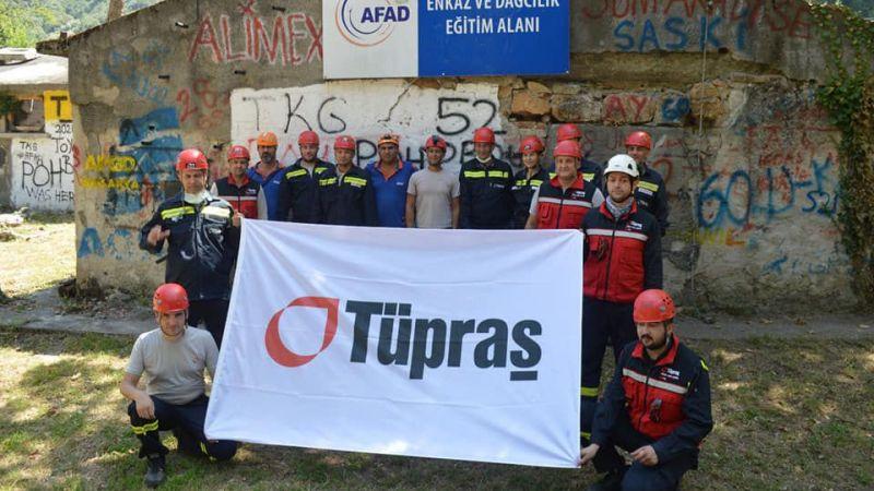 AFAD'dan Tüpraş personeline eğitim