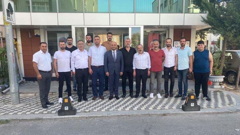 Lastik-İş yönetimine İyi Partiden ziyaret