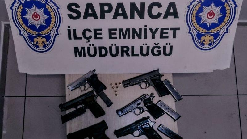 Sapanca'da düğün magandaları gözaltında