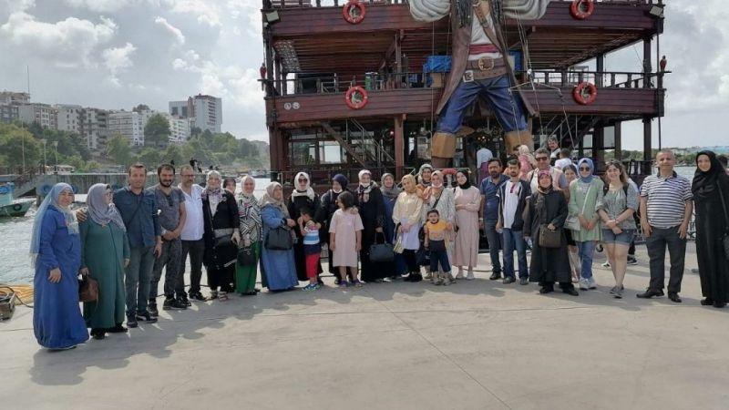 MS hastaları Akçakoca'da buluştu