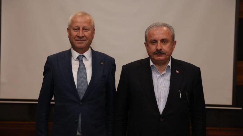 STB heyeti, Tekirdağ'da Şentop'la görüştü