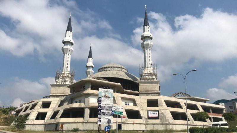 O cami Ramazan'da ibadete açılacak