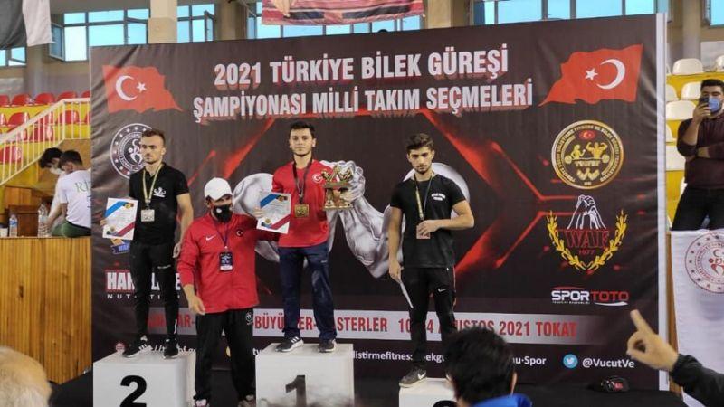 İsmail Bekaroğlu Türkiye Şampiyonu