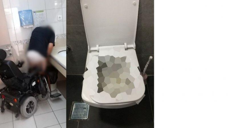 SEAH tuvaletinden iğrenç manzaralar