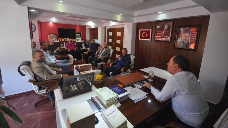 Anadolu Aslanları Geyve Belediyesindeydi