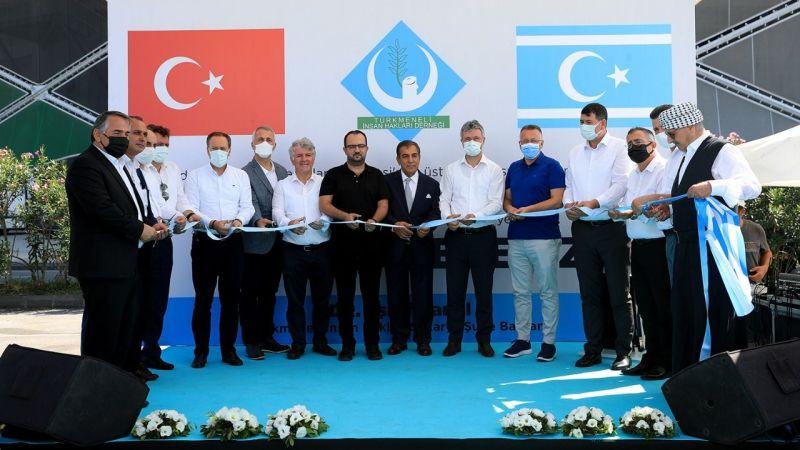 Türkmen Caddesi törenle açıldı