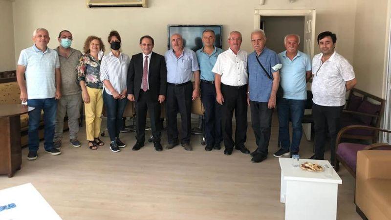 CHP'den STK'lara ziyaret