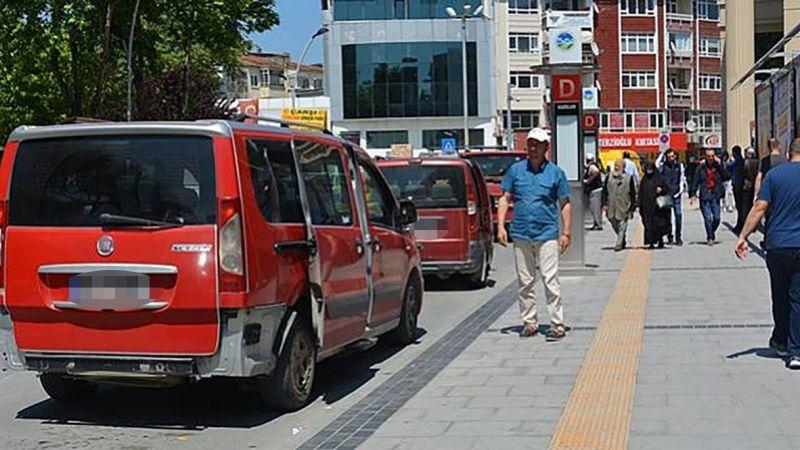 İcradan satılık taksi dolmuş plakası