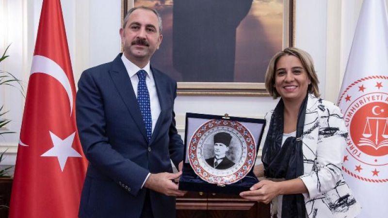 Baro'dan Adalet Bakanı'na ziyaret