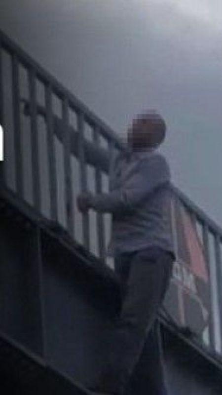 Karaçam Köprüsü'nde intihar girişimi