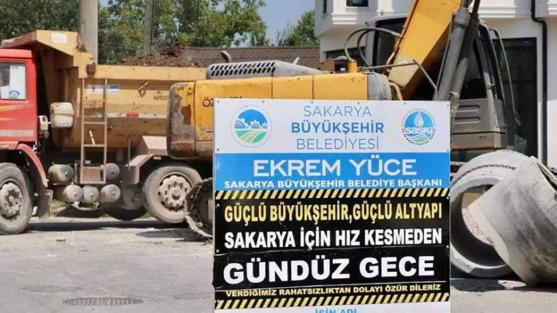 Pamukova Pınarlı'ya yeni içme suyu hattı