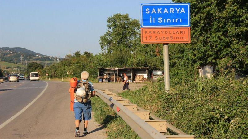 İstanbullu gezgin, Sakarya'da