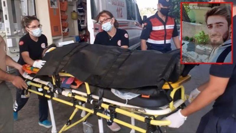 Yangından kaçan ayı gönüllüye saldırdı