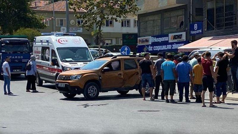 Karasu'da trafik kazası: 1 yaralı
