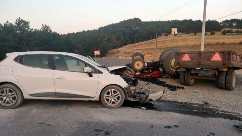 Geyve'de kaza: 1 ölü 2 yaralı