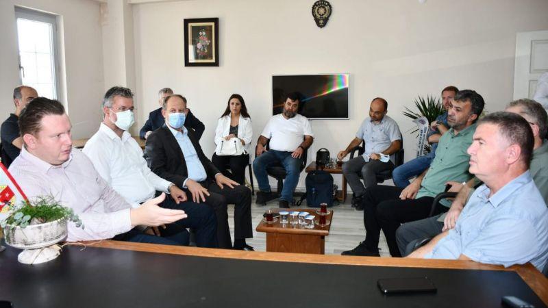 SGC ziyaretinde konuştu: Bülbül'den aşı çağrısı