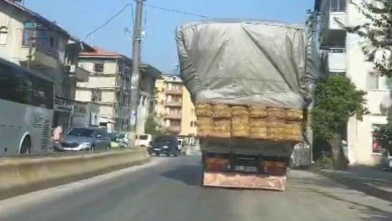 Kaynarca yollarında tehlikeli yolculuk