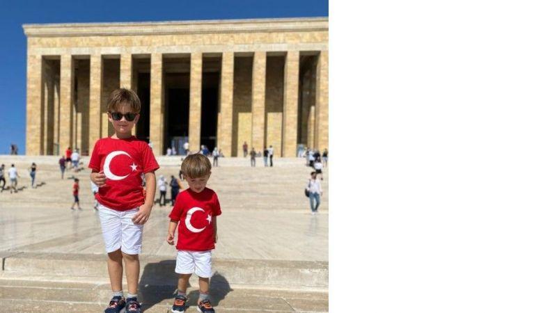 Bayram coşkusunu Anıtkabir'de yaşadılar