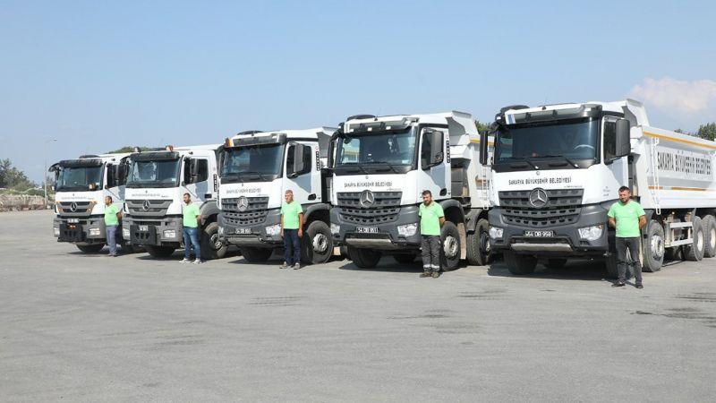 Büyükşehir'in araçları Bozkurt için yola çıktı