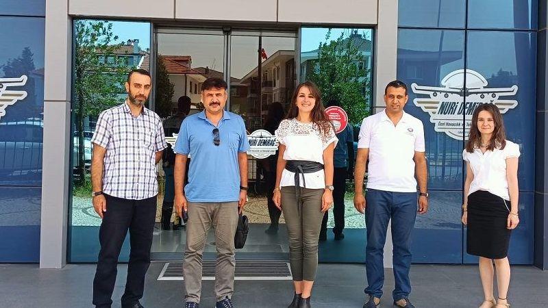 BİMUD'dan Sivil Havacılık Lisesine ziyaret