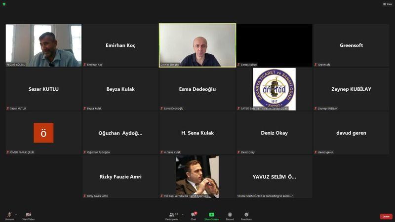 SATSO üyelerine online satış ve reklam eğitimi verildi