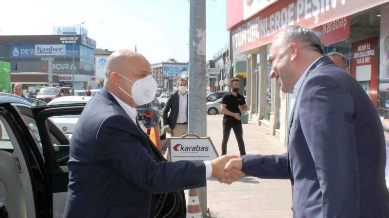 Arçelik'ten Karabaş Ticaret'e üst düzey ziyaret
